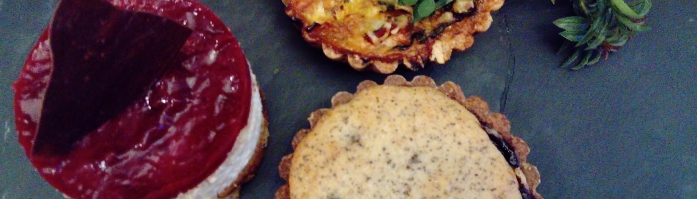 Die weltbesten veganen Quiches gibt es in Eberswalde