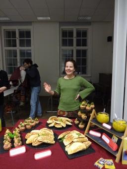 vegetarisches Catering für den Nabu in Eberswalde